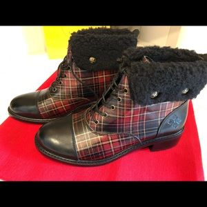 Patricia Nash leather boots size 9